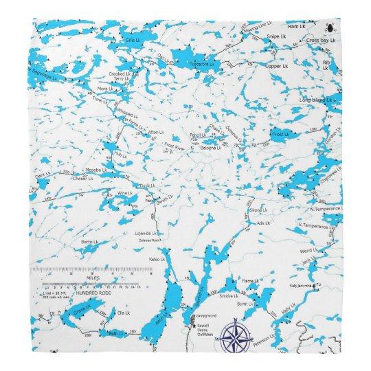 BWCA map Sawbill Head Kerchiefs