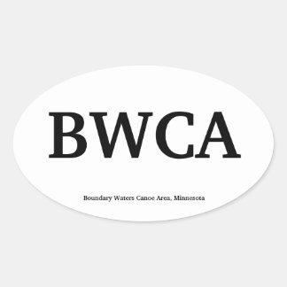 BWCA OVAL STICKER