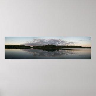 BWCA Panoramic Landscape Poster