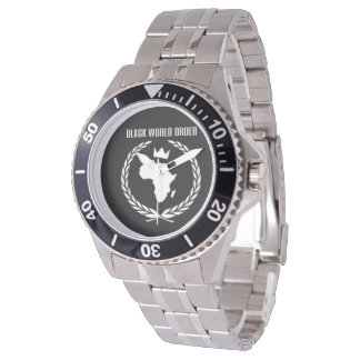 BWO Stainless steel watch