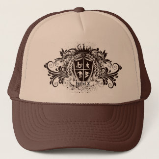 bX Sports Crest Design Trucker Hat