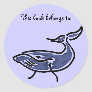 BX- Whale Book sticker