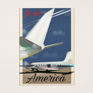 By Air - America Business Card