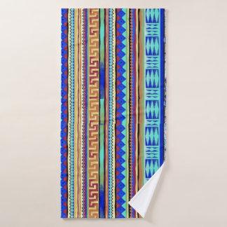 by Cinnamon Color of the sea bath towel
