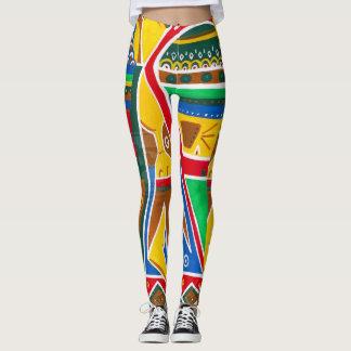 by Cinnamon Colorful jeggings Leggings