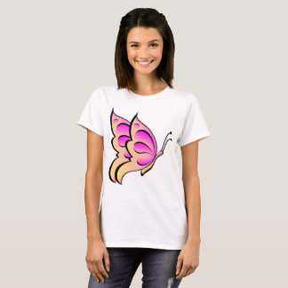 by Cinnamon Pink Butter Fly's T-shirt