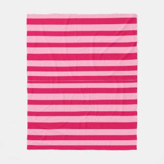 by Cinnamon Pink stripped blanket