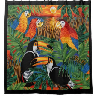 by Cinnamon Such a beautiful bird Shower curtain