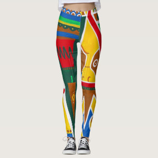 by Cinnamon Tribal pattern Jeggings Leggings