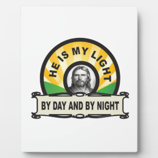 by day and by night jc plaque