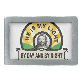 by day and by night jc rectangular belt buckles
