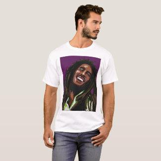 by Eddie Monte' A rasta smiles T-shirt