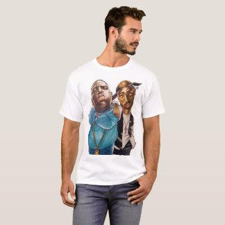 by Eddie Monte' Biggie & 2Pac T-shirt
