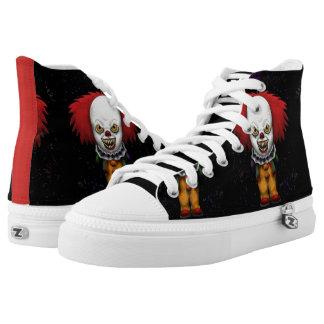 by Eddie Monte' Mad Clown High top Z's