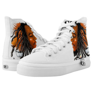 by Eddie Monte' The Lion's High top Z's