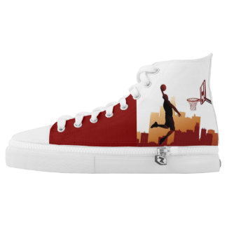 by Eddie Monte' Zooted High top Baller Z's