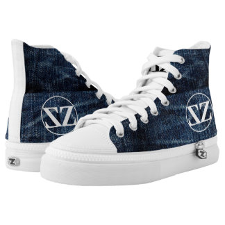 by Eddie Monte' Zooted jean High top Z's