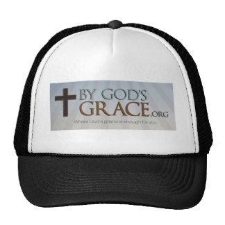 By God's Grace Collection Trucker Hats