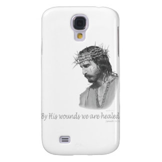 By His wound we are healed Galaxy S4 Case