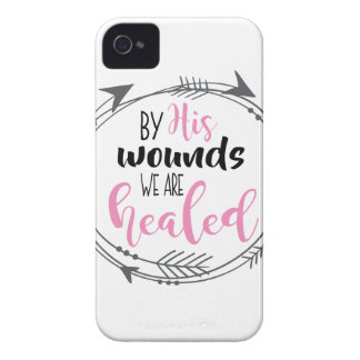 By His Wounds we are Healed iPhone 4 Cases