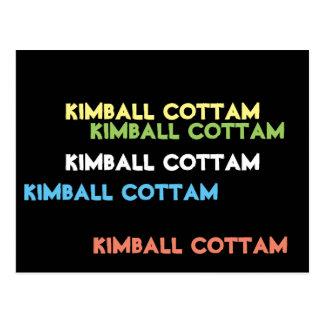 "By Kimball Cottam ""And Five Times Thou Shalt"" Postcard"