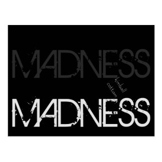 "By Kimball Cottam ""Madness Madness"" Postcard"