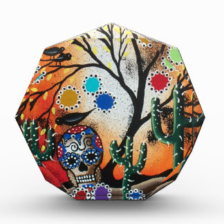 By Lori Everett_ Day Of The Dead,Skull,Mexican,DOD