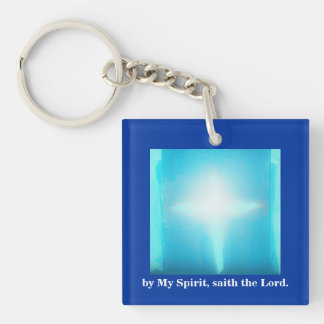 BY MY SPIRIT/GO IN PEACE KEYCHAIN