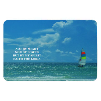 BY MY SPIRIT RECTANGULAR PHOTO MAGNET