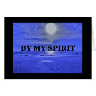 BY MY SPIRIT./THE BATTLE CARD