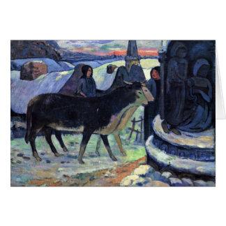 By Paul Gauguin (Best Quality) Card