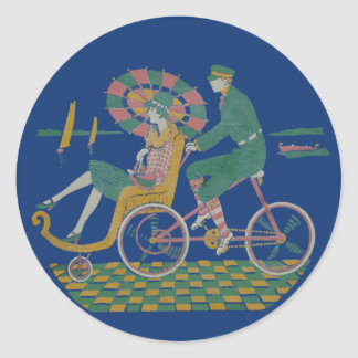 By the Beautiful Sea Classic Round Sticker
