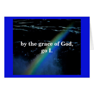 BY THE GRACE OF GOD CARD