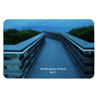 BY THE GRACE OF GOD RECTANGULAR PHOTO MAGNET