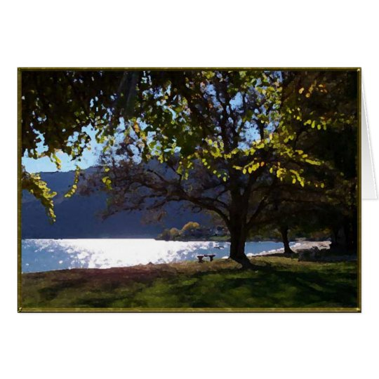By The Lake Card