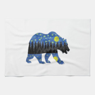 BY THE NIGHT KITCHEN TOWEL