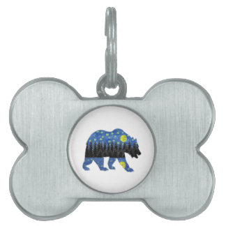 BY THE NIGHT PET NAME TAG
