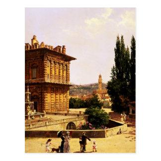 By the Pitti Palace, Florence Postcard
