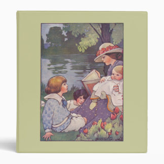 By the River 3 Ring Binder