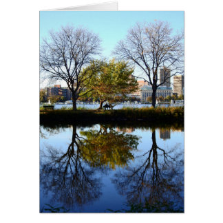 By the River Card