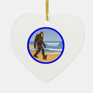 BY THE SEA CERAMIC ORNAMENT