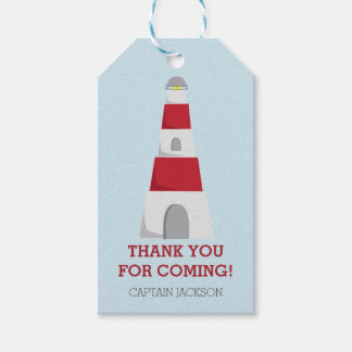 By the Sea Nautical Thank You Pack Of Gift Tags
