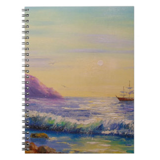 By the sea notebooks