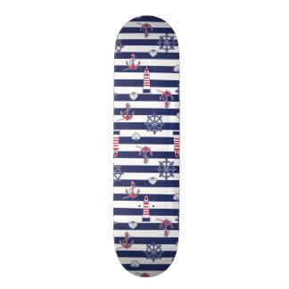 By The Sea Pattern Skate Board Decks