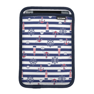 By The Sea Pattern Sleeve For iPad Mini