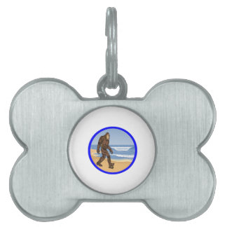 BY THE SEA PET TAG