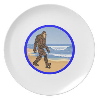 BY THE SEA PLATE