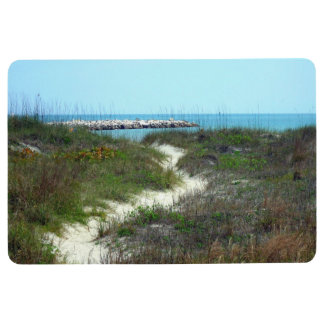 By the Sea Shore Floor Mat