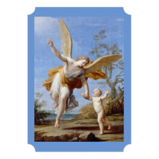 By the Seashore Angel and Child Card