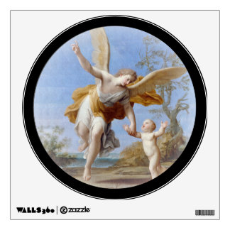 By the Seashore Angel and Child Wall Sticker